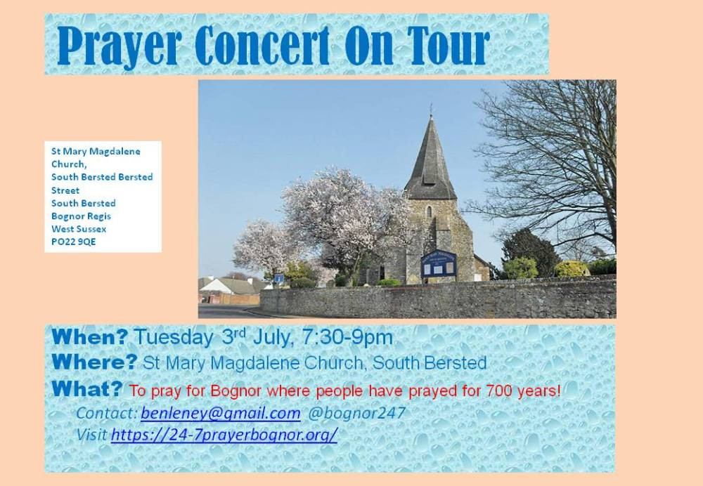 July prayer concert 2016